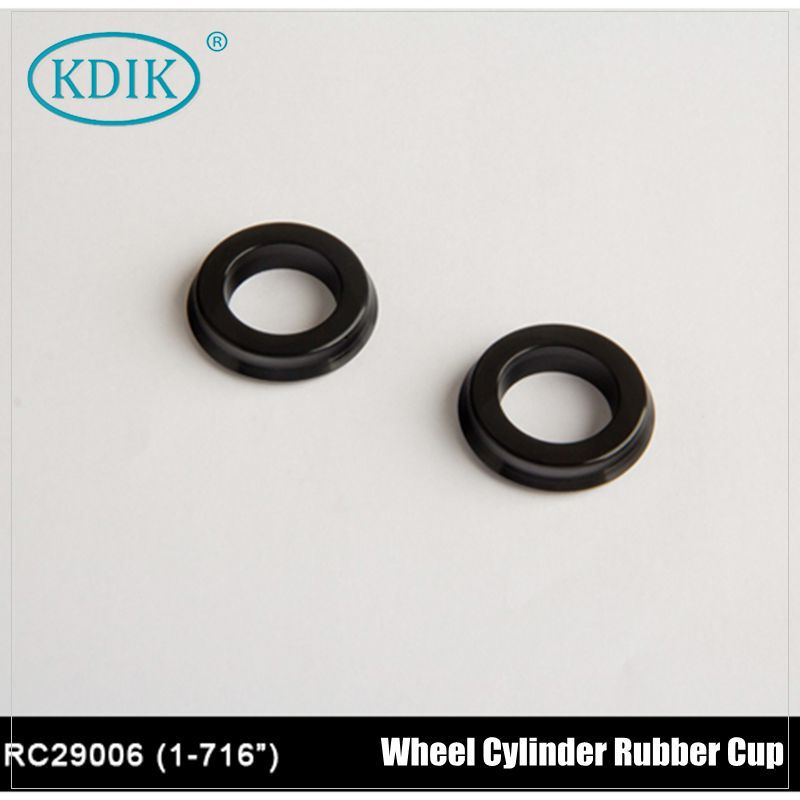Reinforced Wheel Cylinder Rubber Cup 1-7/16""