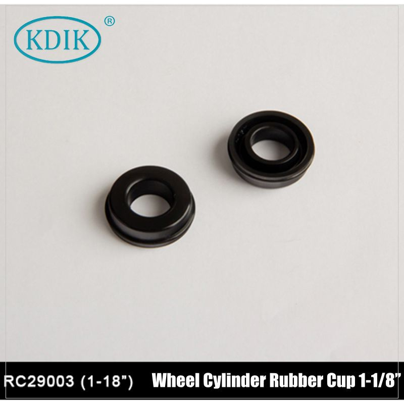 Reinforced Wheel Cylinder Rubber Cup 1-1/8""