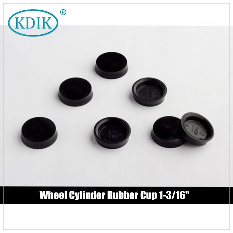 "Hydraulic Wheel Cylinder Rubber Cup 1-3/16"" for Clutch Pump Repair Kit"