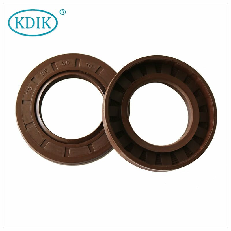 Shaft Oil Seal TC Type Size 10*18*5mm Rubber Covered Double Lip NBR FKM for Industry Sealing CHINA KDIK Oil Seal Manufacturer