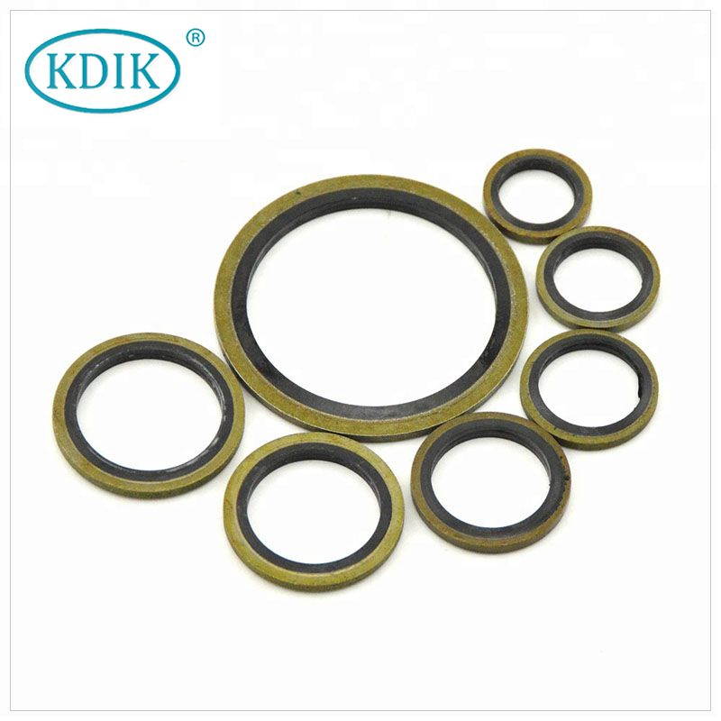 Hot Sale Rubber Combined Gaskets Bonded Seal for Flanged Joints Compound Gasket