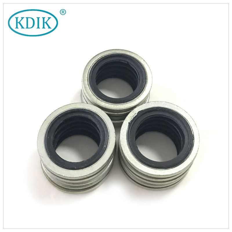 KDIK OIL SEAL Rubber Combined Gaskets Bonded Seal for Flanged Joints Compound Gasket