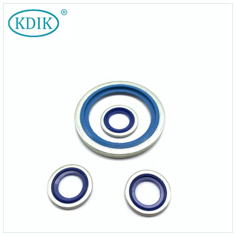 NEW Rubber Combined Gaskets Bonded Seal for Flanged Joints Compound Gasket